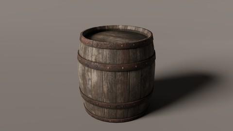 Old West Barrel