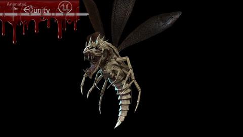 Flying beetle 3