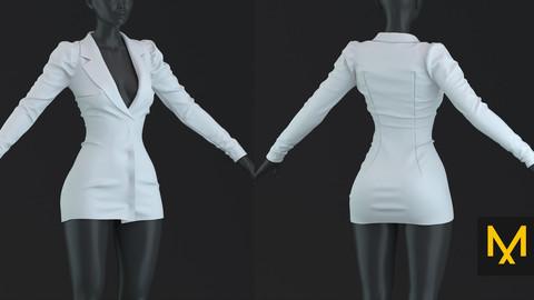 Blazer Female Marvelous Designer