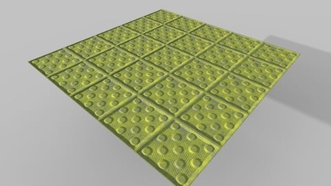 Subway Safety Mat PBR Texture