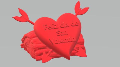 Happy Valentine Day / Feliz día de San Valentín