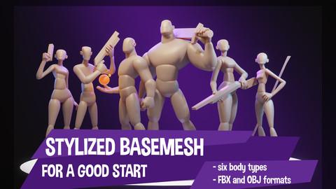 Stylized Basemesh