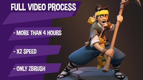Video process - Yellow Turban