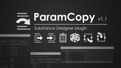 ParamCopy 1.1.1 for Substance Designer