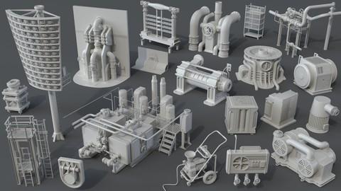 Factory Units 5 - 20 pieces