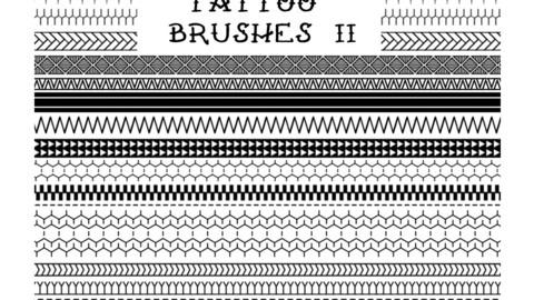 Tattoo Brushes 2