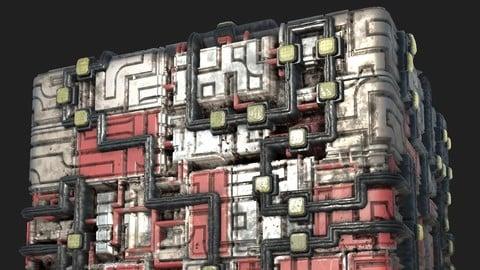 Sci-fi Material Generator 1