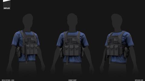 Marvelous Designer Tactical Vest