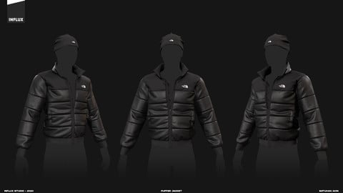 Marvelous Designer Puffer Jacket