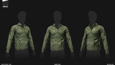 Marvelous Designer Combat Shirt