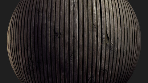 Old wood planks - 3D Texture - 300 x 300 cm seamless scan - 20k