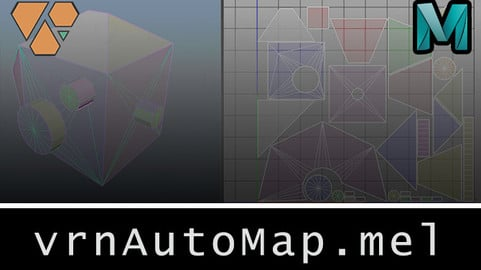 vrnAutoMap (Maya MEL Script)