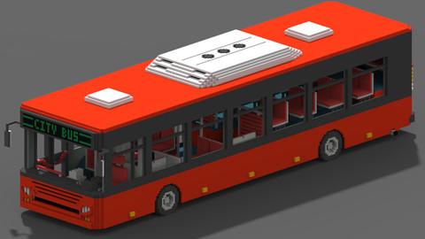 Voxel City Bus