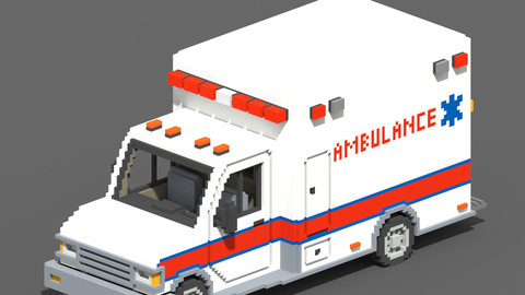 Voxel Ambulance