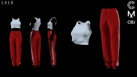 Crop Top & Training Pants