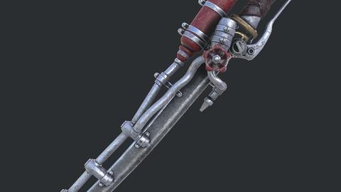 Fantasy sword 20 3d model
