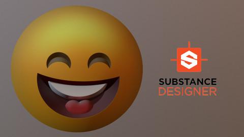 Emoji: Substance Designer for procedural UI elements