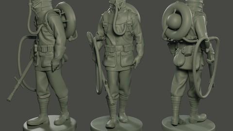 German soldier ww1 walk G5