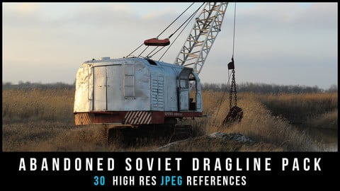 Abandoned Soviet Dragline