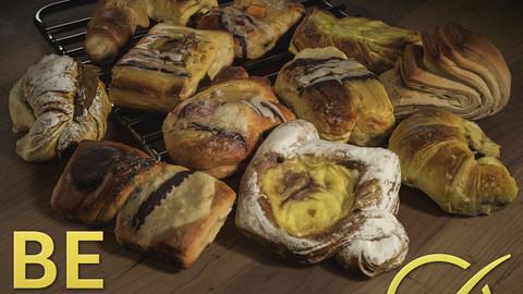 Pastries Pack - Photogrammetry Asset 3D PhotoScan