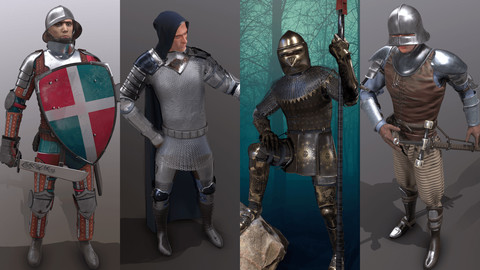 Medieval Knights Pack - 1