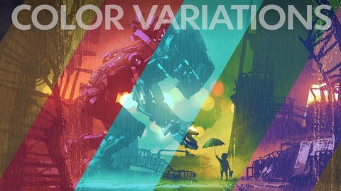 Color Variations - Photoshop Action