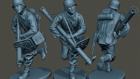 German soldier ww2 run G4