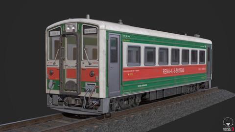 Rena's Train - 3D Assets