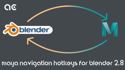 Maya Navigation Hotkeys for Blender 2.8 onward and My Custom Setup