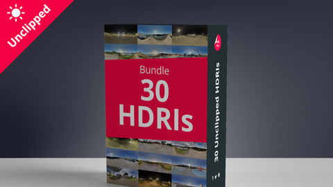 30 Hdris Bundle - Package