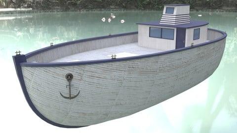 Boat LowPoly