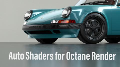 Automotive materials for Octane Render