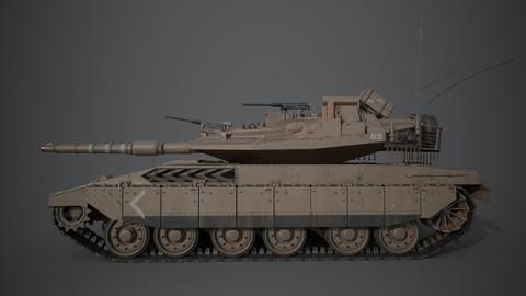 Merkava Tank 4