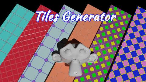 Procedural tile generator for Blender