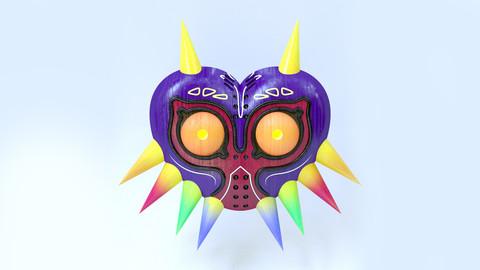 Majora's Mask 3D Model + Bonus PSD File