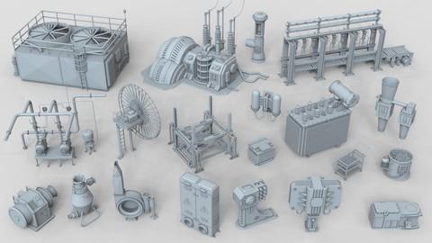 Factory Units 6 - 20 pieces
