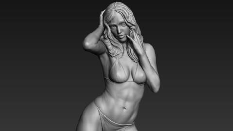 3D Print Ready Woman