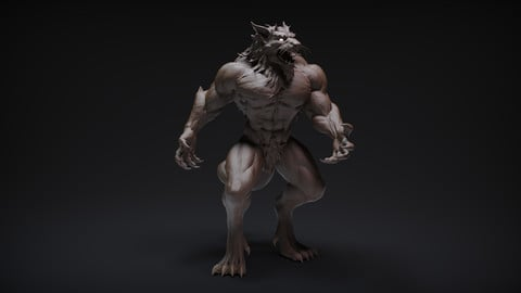 Warewolf 3D Printable