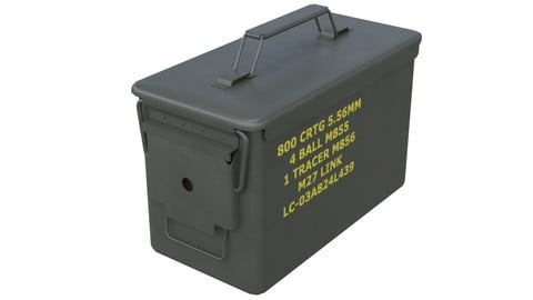 Ammunition Box 1 New
