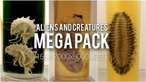 Aliens and Creatures References MEGAPACK
