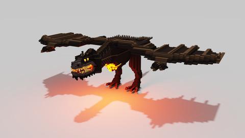 Voxel Dragon