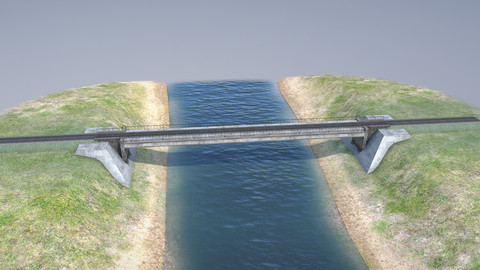 RW Bridge Vologda-II mono