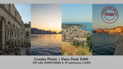 Croatia Photo & Pano Pack with RAW