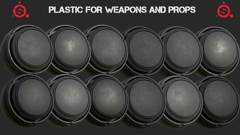 Plastic for weapons and props