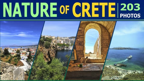 Nature of Crete - Photo Reference Pack