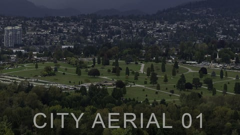 CITY AERIAL (VANCOUVER) - HDR PANO PHOTO PACK