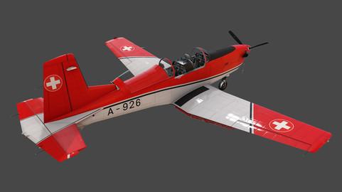 Pilatus PC-7 Mk-I SAFRedWhite