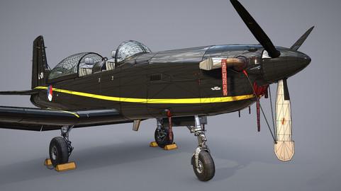 Pilatus PC-7 Mk-I HLBlack