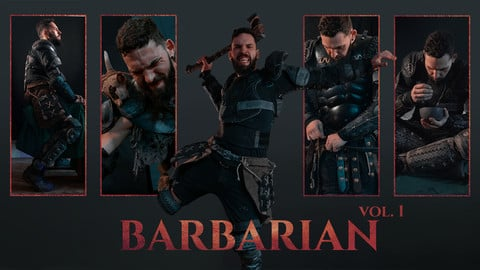 Barbarian Reference Pack vol. 1