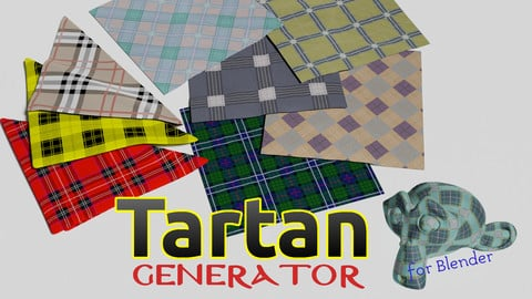 Tartan Generator for Blender
